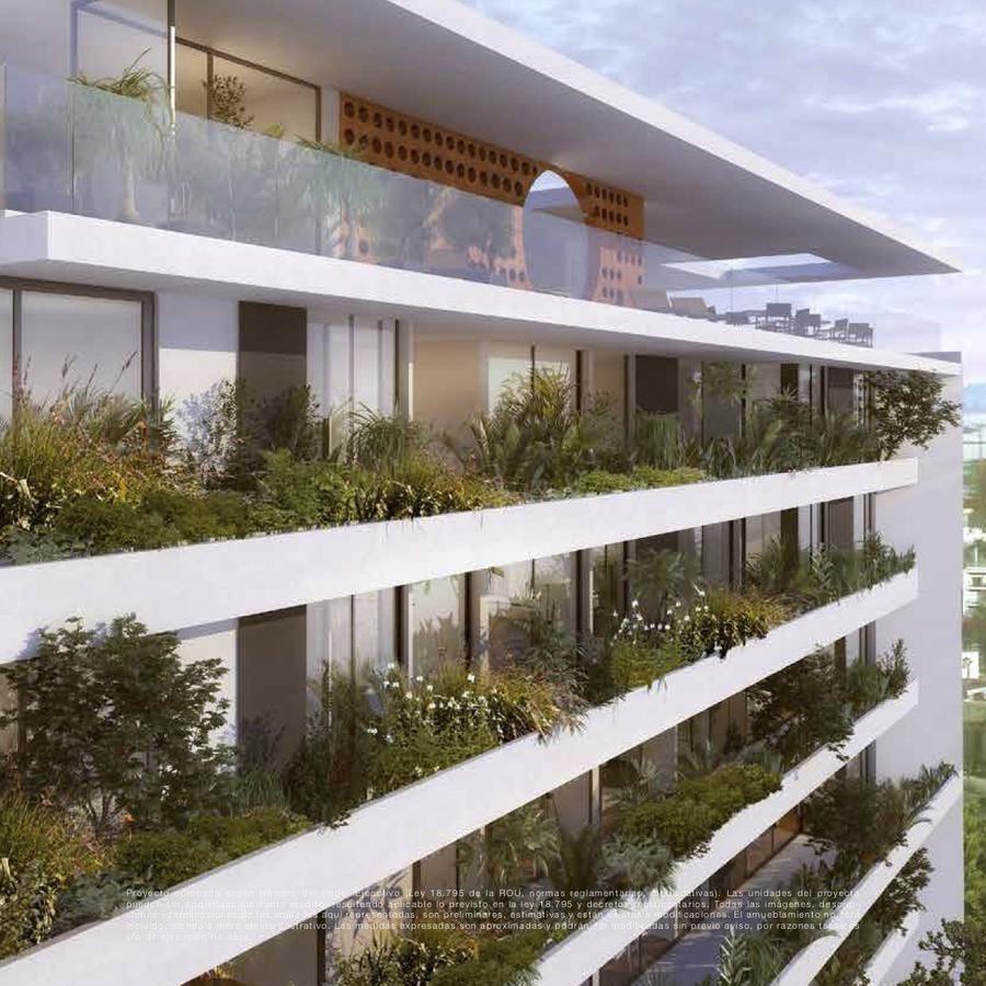 Apartamento Un Dormitorio Baño Completo Terraza Edificio Con Amenities Seguridad
