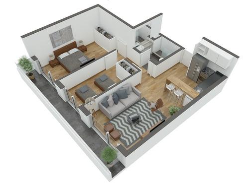 apartamento venta de 2 dormitorios cordón - edificio morumbí