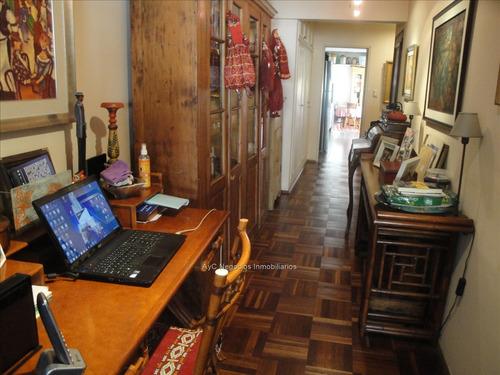 apartamento venta pocitos 4 dormitorios,serv, 2 garajes