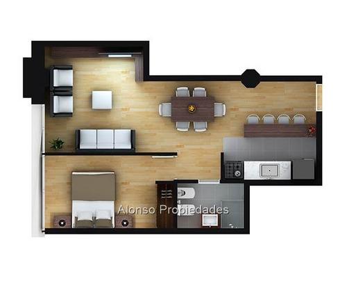 apartamentos 1 dormitorio goes  altos del libertador