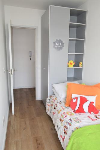 apartamentos de 1, 2 y 3 dormitorios con garage en la aguada