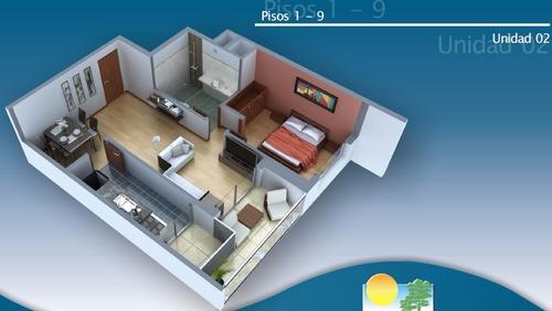 apartamentos de 3 dormitorios y garage en pocitos