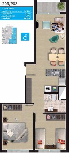 apartamentos en venta tempo rodo 1980 2 dormitorios 1 baño