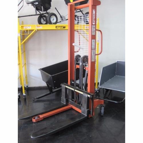 apilador manual 1000kg 3m equus