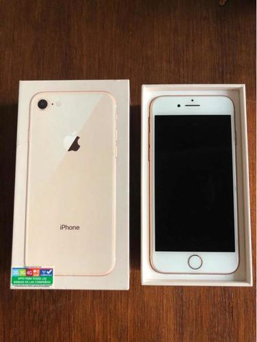 apple iphone 8 64gb color dorado nuevo! 1 mes de uso!