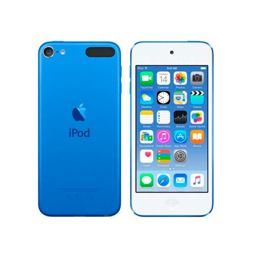 apple ipod touch 16gb azul 6ta generación