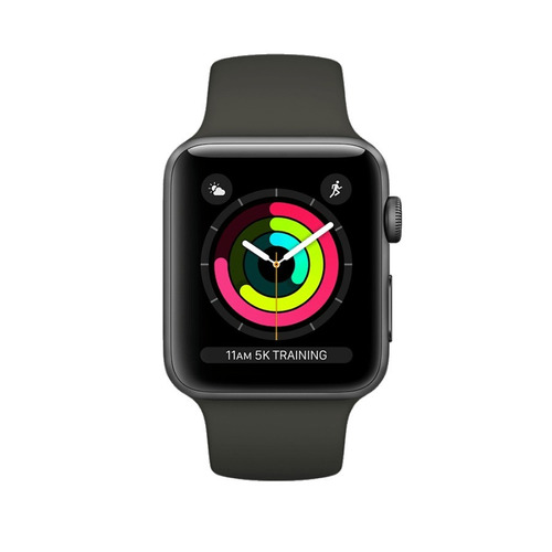 apple watch serie 3 sport gps 42mm caja sellada + regalo