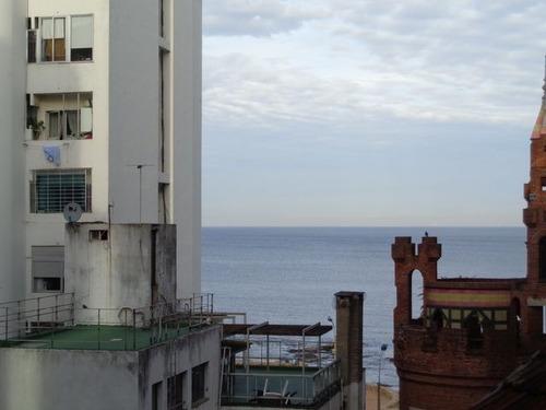 apto. a 1 paso del mar en vidal y 21 de setiembre