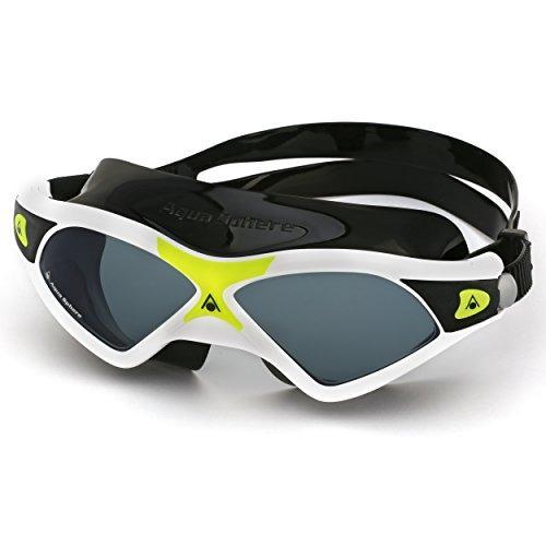 b7e16d6305b Aqua Sphere Seal Xp Smoke Lens Swim Mask, Blanco / Amarillo ...