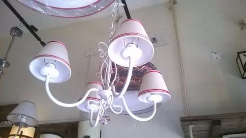 araña hierro forjado,fabrica,iluminacion,decoracion,lamparas