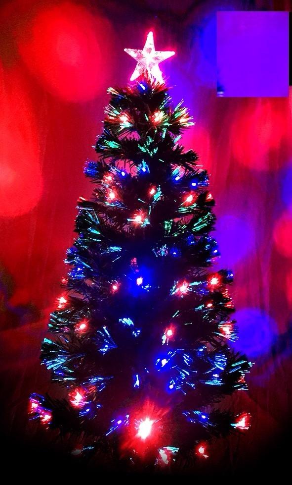 08f5a8c0936aa Arbol Navidad Luz Fibra Optica 1.20 Mts -   2.200