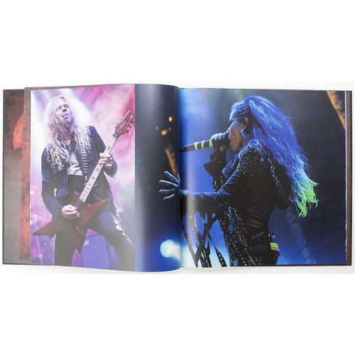 arch enemy -as the stages burn! (ltd. deluxe  artbook