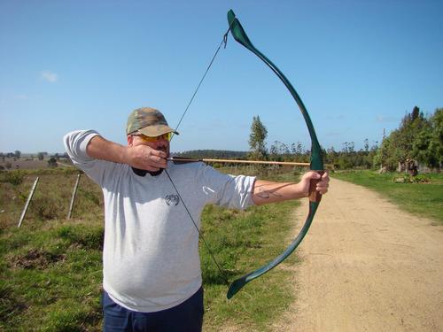 arco darbatas elfo camuflado de 50 libras, ideal para caza