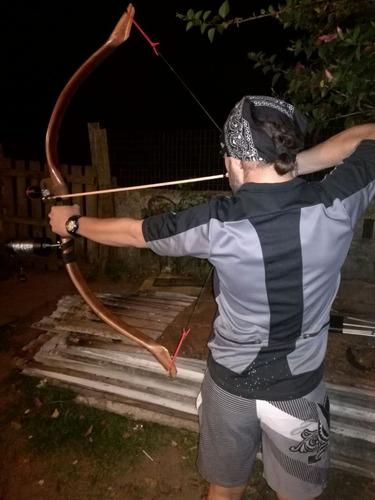 arco de pesca y caza media de 45 lbs