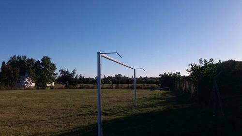 arcos de futbol infantiles y profesionales redes e insumos.
