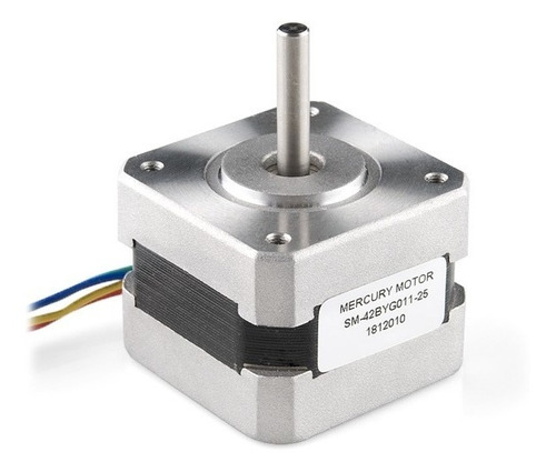 arduino stepper motor with cable