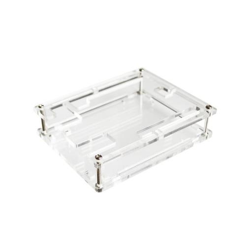 arduino uno box acrilico caja protectora transparente