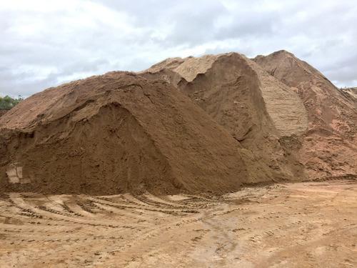 arena de cantera, destape de cantera, arena sucia, relleno