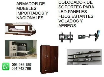 armador de muebles en el dia mejor servicio y calidad
