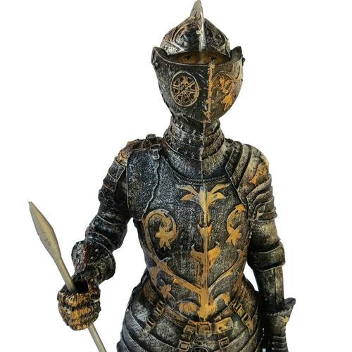 armadura medieval em resina g