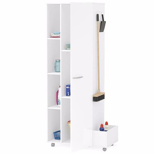 armario lages mueble multiuso baño ruedas repisa estantes