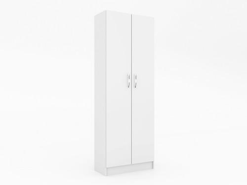 armario multiuso 2 puertas con estantes sensacion