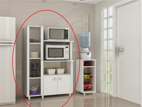 armario multiuso cocina con alacena cristalero aparador 3304