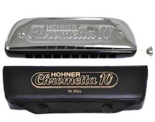 armonica hohner 253/40c chrometta 10