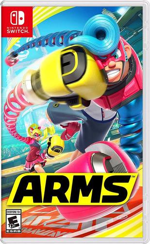 arms nintendo switch - fisico - xuruguay