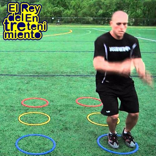 aro deportivo 40cm entrenamiento coordinación fútbol el rey