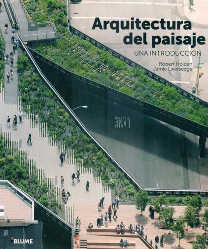 arquitectura del paisaje una introducción