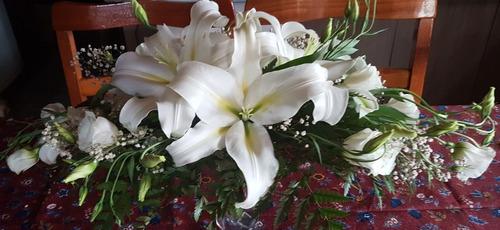 arreglo floral para bodas