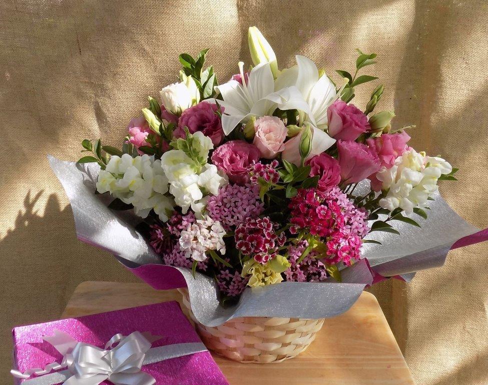 Arreglo Floral Ramo Flores Regalo Día Del Maestro Maestra