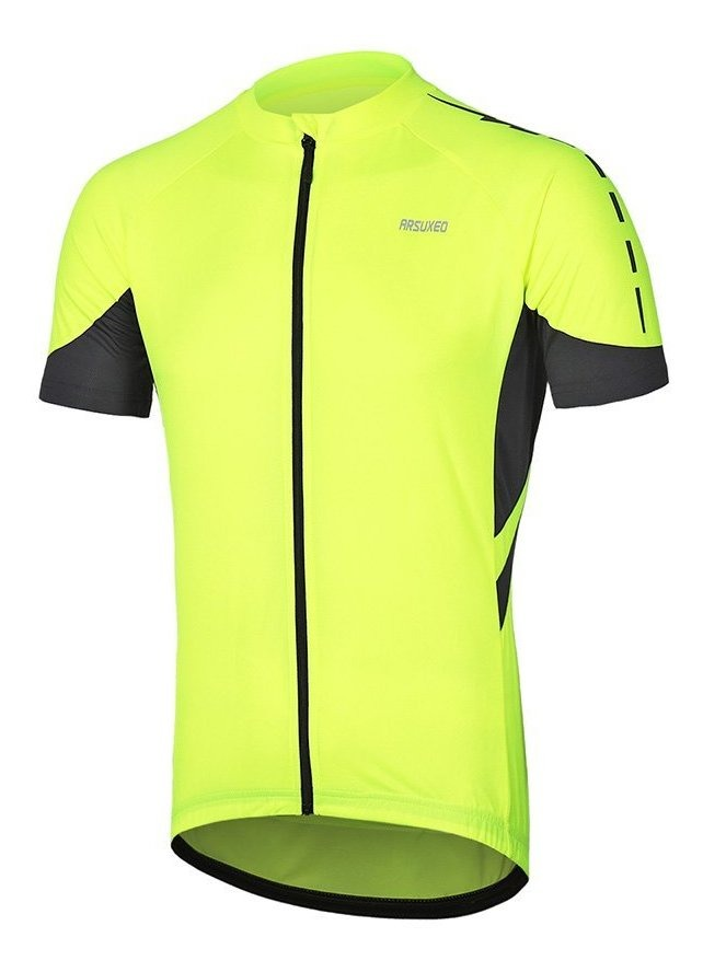 ARSUXEO 636 Maillot de ciclismo de manga corta para hombre