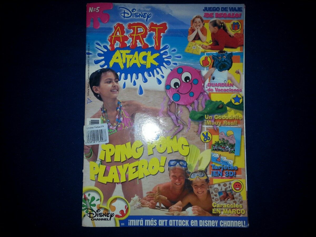 Art Attack Revista De Manualidades Para Ninos De Disney 209 00