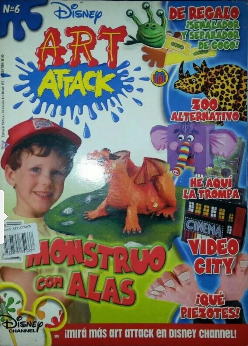 Art Attack Revista N 6 De Manualidades Para Ninos De Disney 299