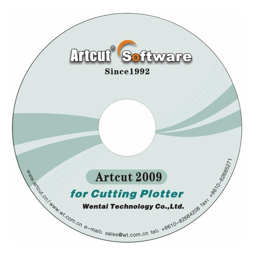artcut 2009 original p/ plotter de corte- envio inmediato