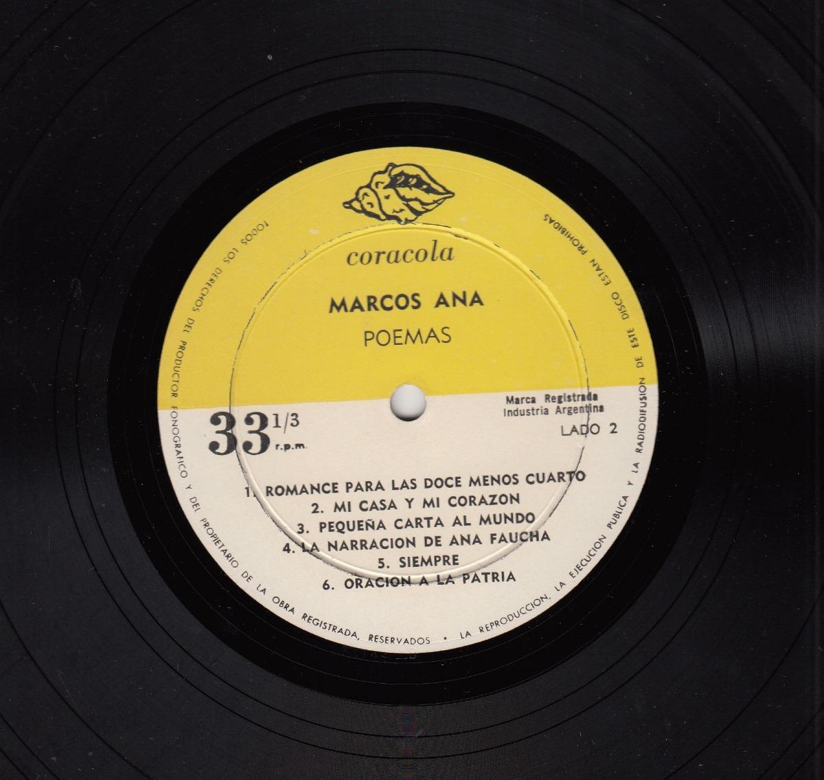 Arte De Laxeiro Guerra Civil España Disco Vinilo Marcos Ana - U$S 60 ...