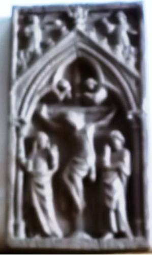 arte gótico - cristo retablo