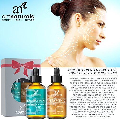 arte naturals orgánica 20% vitamina c serum 1,0 oz y 2,5% de