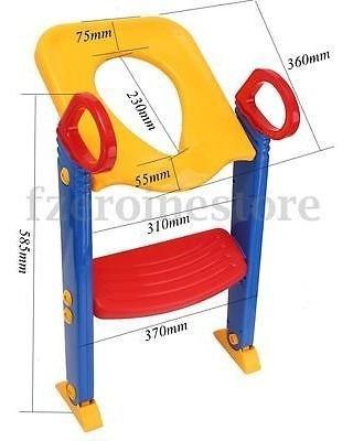 asiento de entrenamiento de niños con banquito escalera para