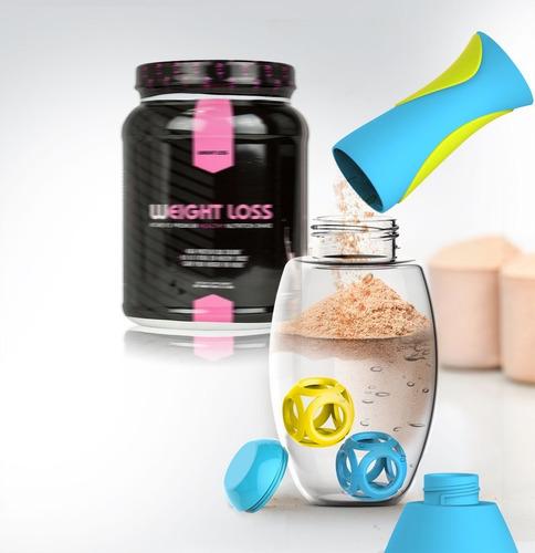 asobu samba shaker protein/sport hidratación botella de p