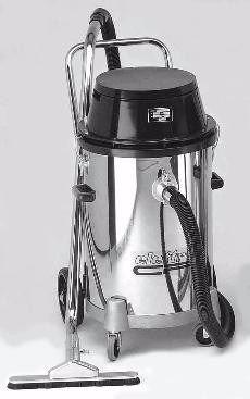 aspiradora industrial agua y polvo 90lt 2x1000w elettro