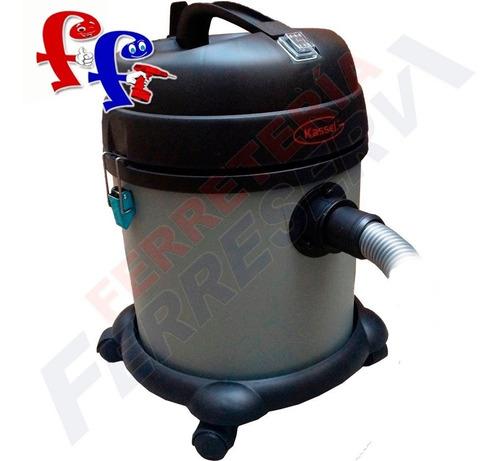 aspiradora kassel seco humedo 20lts 1400w tanque plastico