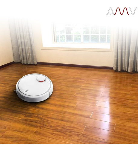 aspiradora robot xiaomi smart wifi con app para celular amv
