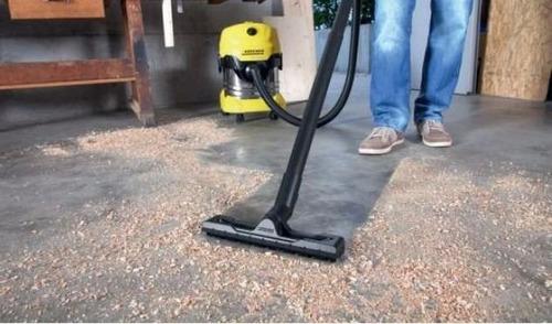 aspiradora seco - húmedo 1600 watts karcher mv4