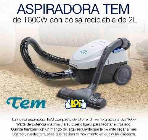 aspiradora tem 1600w bolsa reutilizable oferta loi