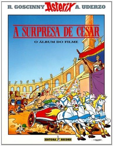 asterix e a surpresa de césar de rené goscinny record - grup