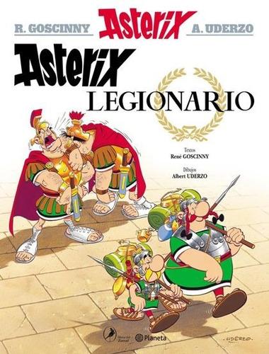 asterix legionario. asterix 10 - r. goscinny | a. uderzo