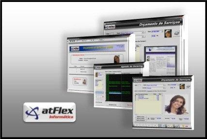atflex - controle de ponto acesso biometrico clube academia